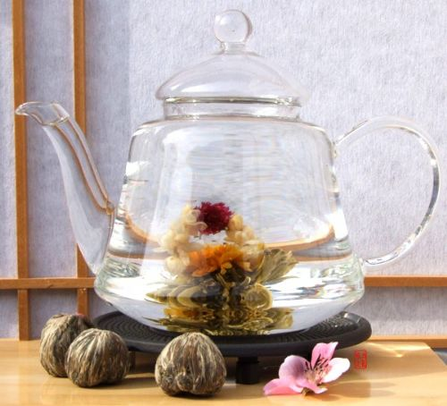 Love at first sight x 3 tea bulbs - Chinese Blossoming Tea from the Fujian province